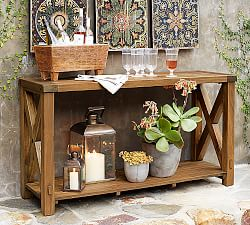 Stunning Quicklook outdoor console table