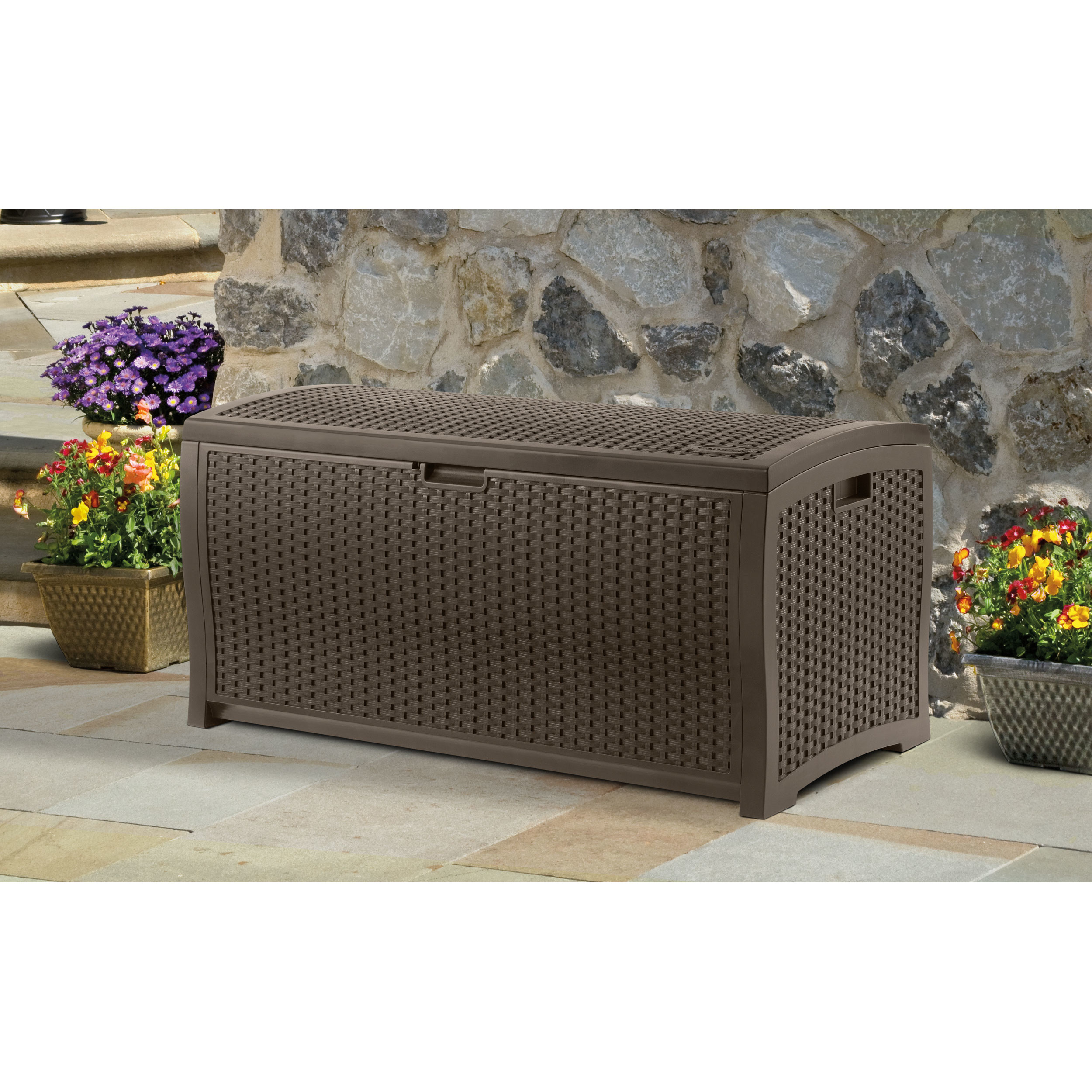 Wonderful Contemporary QUICK VIEW Patio Cushion Storage
