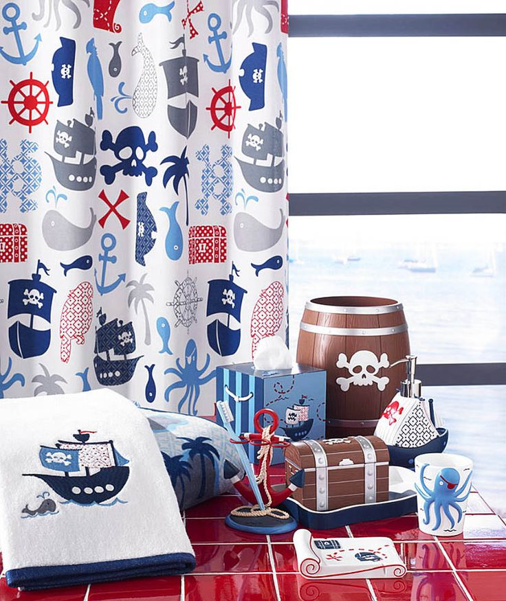 Photos of 222 Childrens Shower Curtains, kids bathroom sets, kids bathroom ideas ~ Home