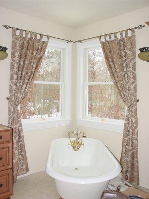 Photos of 25+ best ideas about Corner Window Curtains on Pinterest | Corner curtain corner window curtain rod