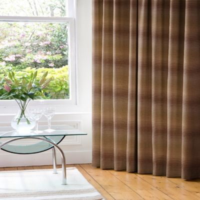Photos of Cheyenne Moss/Taupe Lined Pencil Pleat Curtains tartan pencil pleat curtains
