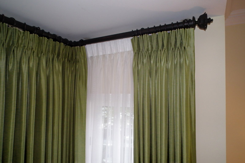 Photos of Corner Curtain Rod Photos corner window curtain rod