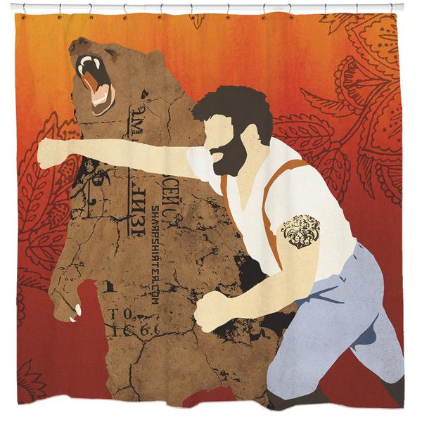 Photos of Haymaker Shower Curtain cool shower curtains for men