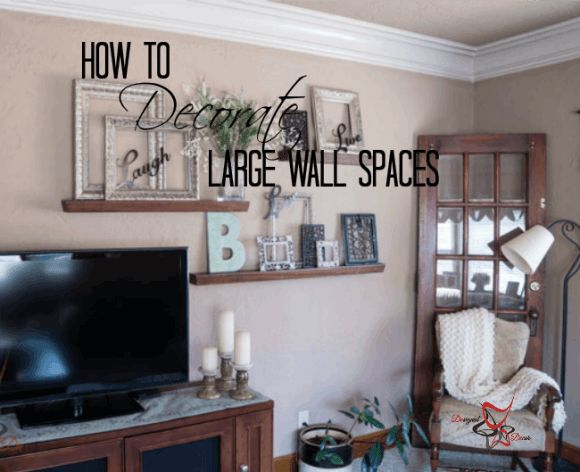 Photos of How to Decorate Large Wall Spaces- Decorating to scale large wall decorations