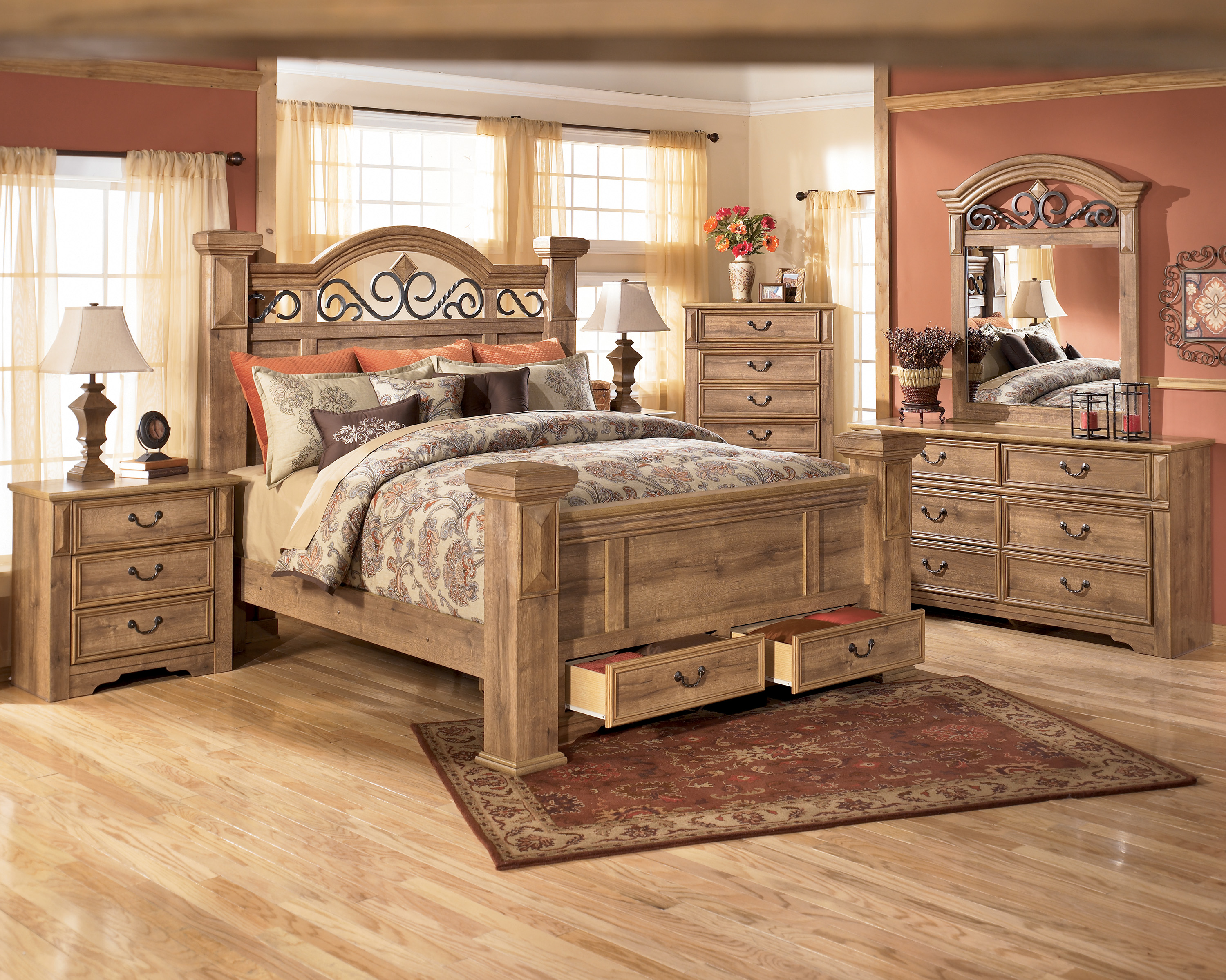 Photos of king bedroom furniture | Gloria King Size Complete Bedroom Set Rosalinda king size bedroom furniture sets