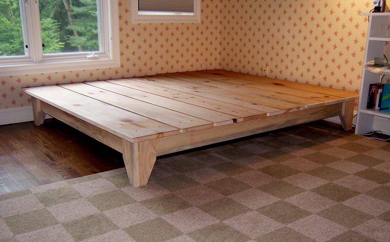 Photos of Manifold Custom Furniture platform bed wood platform bed frame queen