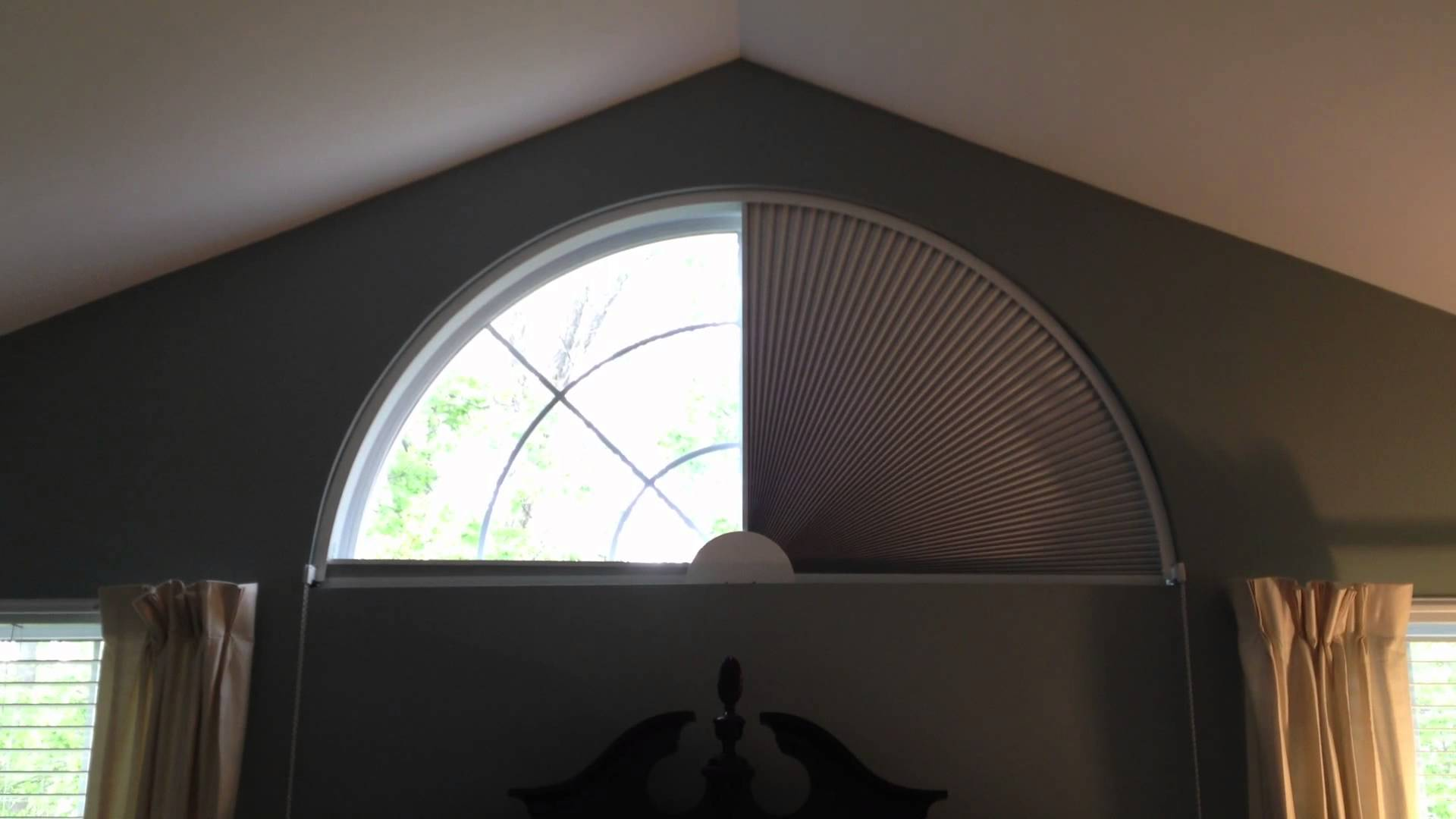 Photos of Movable Blind for Arch Shaped Window by Blind Builders, Inc. Feasterville,  PA arch window shade