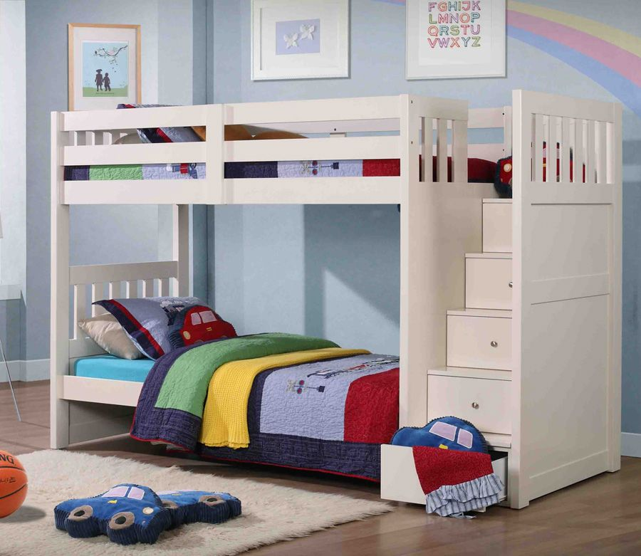 Photos of Pictures of the Bunk Beds with Storage Ideas as Excellent Saving Place kids bunk beds with storage