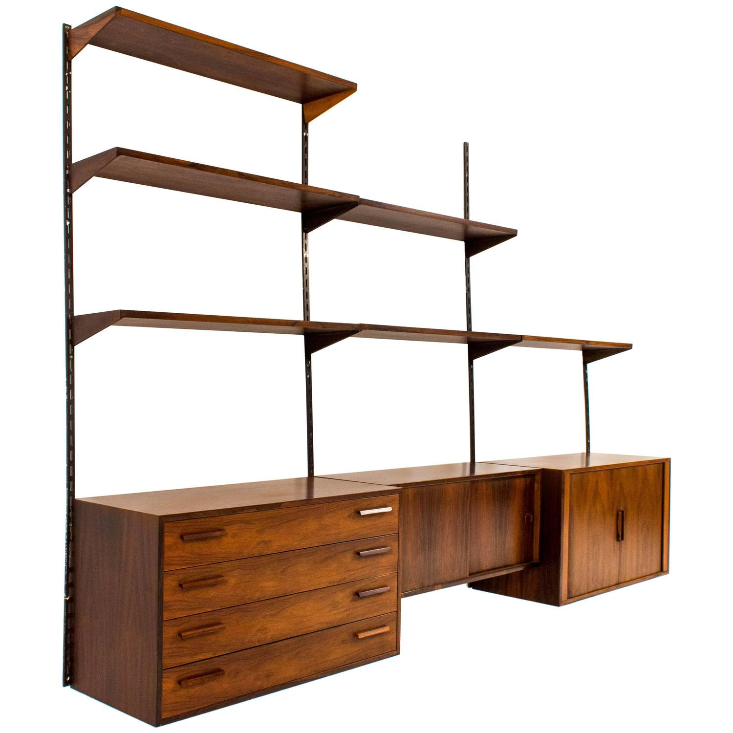 Create more space with Wall shelving units darbylanefurniture