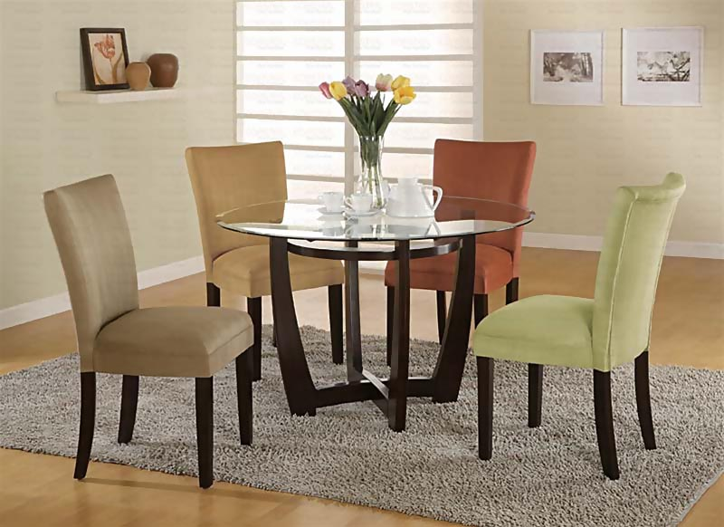 Photos of Top Modern Round Dining Room Sets Round Dining Room Table Sets Throughout contemporary round dining room sets