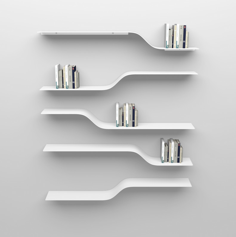 Photos of Wall Mounted Bookshelves White And How white wall bookshelves