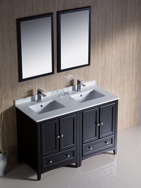 Pictures of 48 48 double sink vanity