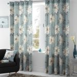 Give Your Home The New Look Using The Evergreen Blue Curtains