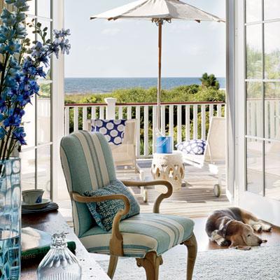 Pictures of Beachy Elegance elegant coastal living rooms