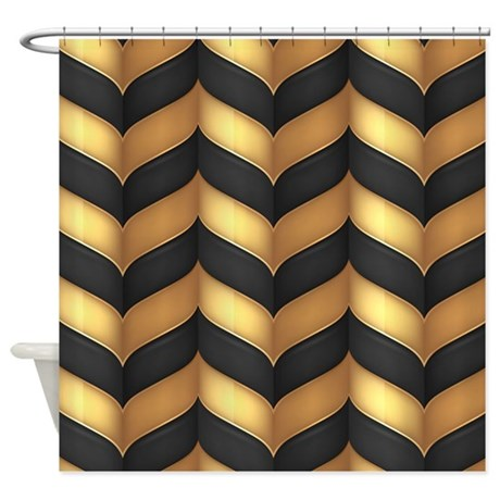 Pictures of Black And Gold Shower Curtain black and gold shower curtain