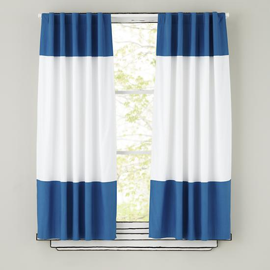 Pictures of Blue and white blue and white curtains