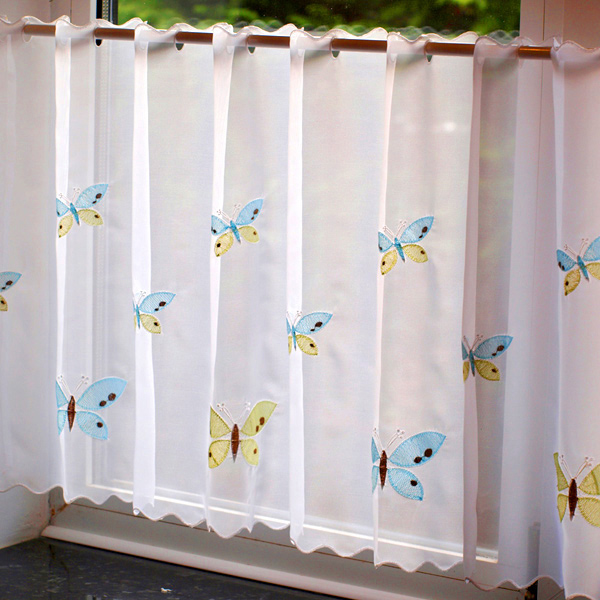 Pictures of ... Butterfly kitchen curtains Photo - 3 ... butterfly kitchen curtains