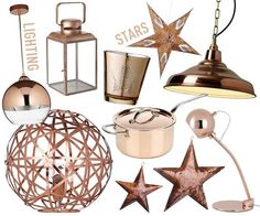 Pictures of Give your a pre-festive-feeling with a few copper lighting and decorative  accessories copper decorative accessories