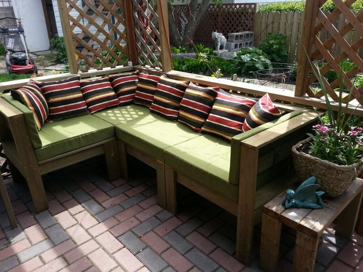Pictures of Lovable Diy Outdoor Furniture Cleaner With Diy Outdoor Serving Regarding  Homemade patio furniture ideas