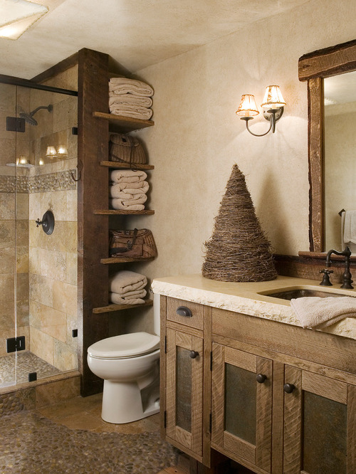 Pictures of Rustic Bathroom Design Ideas, Remodels u0026 Photos rustic bathroom decor ideas