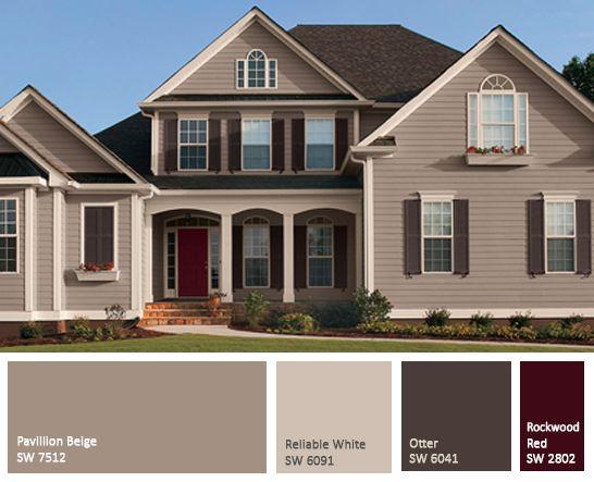 Popular 25+ best ideas about Exterior Paint Colors on Pinterest   Exterior house exterior house paint colors