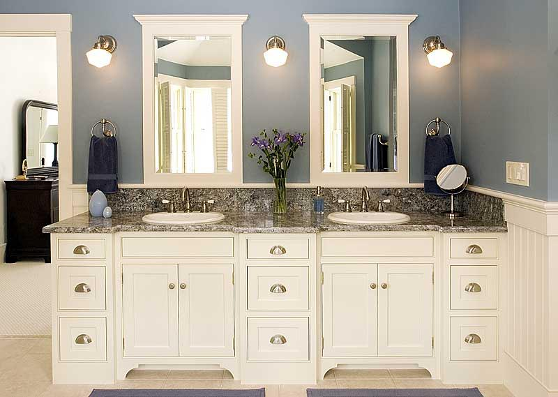 Popular 25+ best ideas about White Bathroom Cabinets on Pinterest | Double vanity, bathroom vanity cupboards