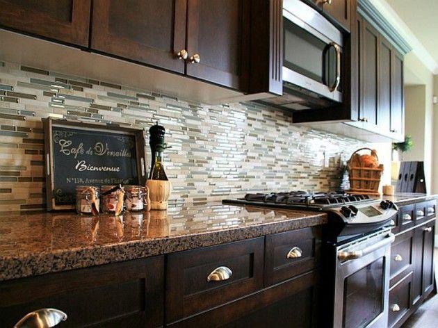 Popular 576 best images about Backsplash Ideas on Pinterest | Kitchen backsplash,  Stove kitchen glass backsplash designs