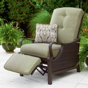 Popular A piece of garden furniture that provides superior comfort. This patio  recliner garden furniture recliners