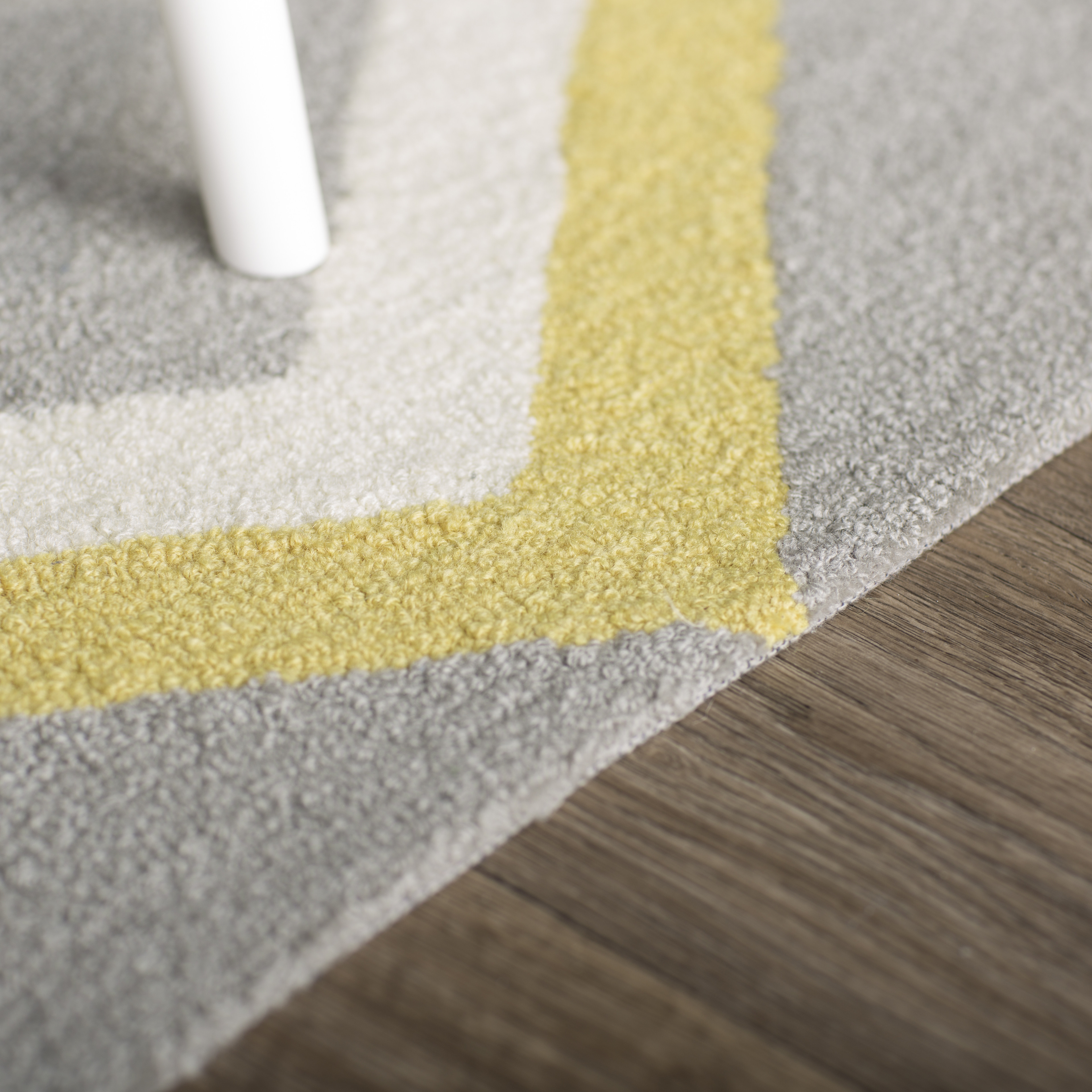 Popular Brayden Studiou0026reg; Stoltenberg Hand-Hooked Gray/Yellow Area Rug yellow area rug