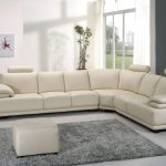 The beauty of corner leather sofa