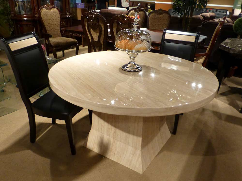 Popular marble round dining table marble round dining table luxury round dining  table marble round dining table