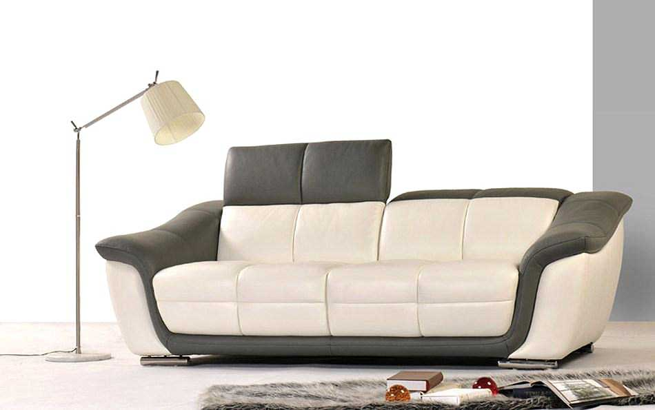 Popular Modern Leather Sofa Set HE66 contemporary leather sofa sets