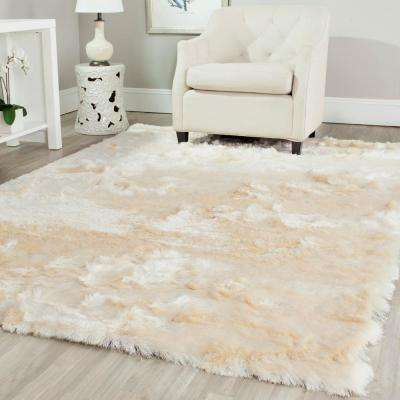 Popular Paris Shag ... white shag area rug