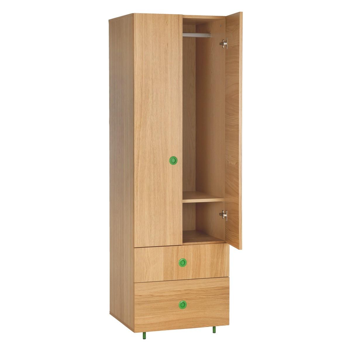 Popular ... POD Kidsu0027 oak double wardrobe with drawers double wardrobe with drawers