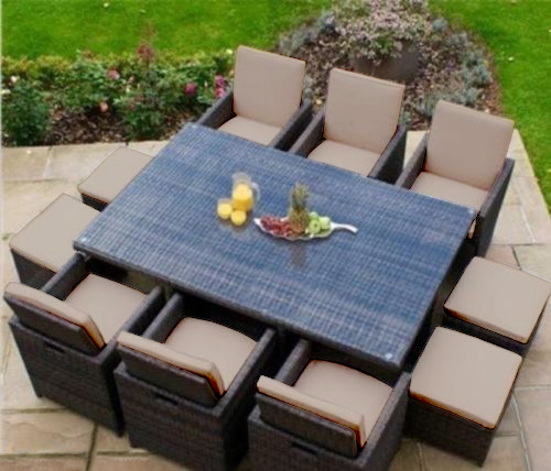 Popular Replacement-16pc-Cushion-Set-for-10-Seater-Rattan- replacement cushions for rattan garden furniture