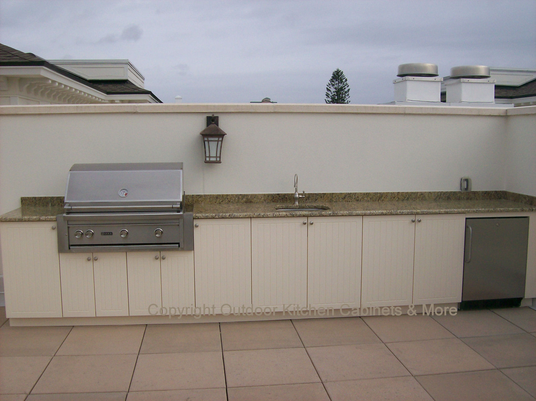 Popular Roof Top Outdoor Kitchen Totally Exposed outdoor kitchen cabinets