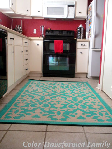 Popular rug turquoise kitchen rugs