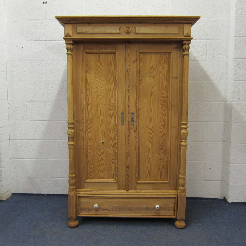 Popular small one piece antique pine wardrobe antique pine wardrobe