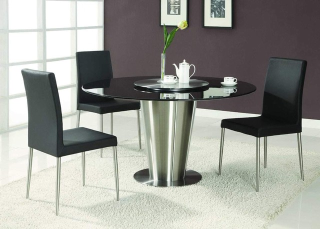 Popular Top Modern Round Dining Room Sets Round Dining Room Table Sets For modern round dining table set