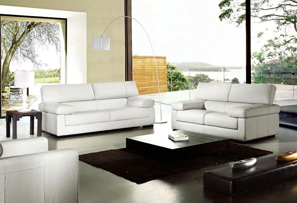 Por Vg81 Italian Modern Leather Sofa Set Sofas Contemporary
