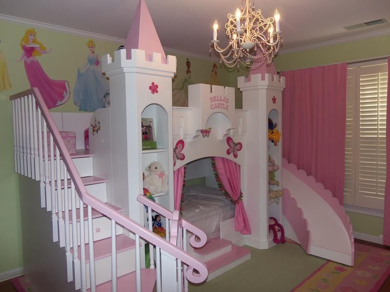 Cool NEW CUSTOM PRINCESS BELLA 2 CASTLE BED  princess castle bedroom set