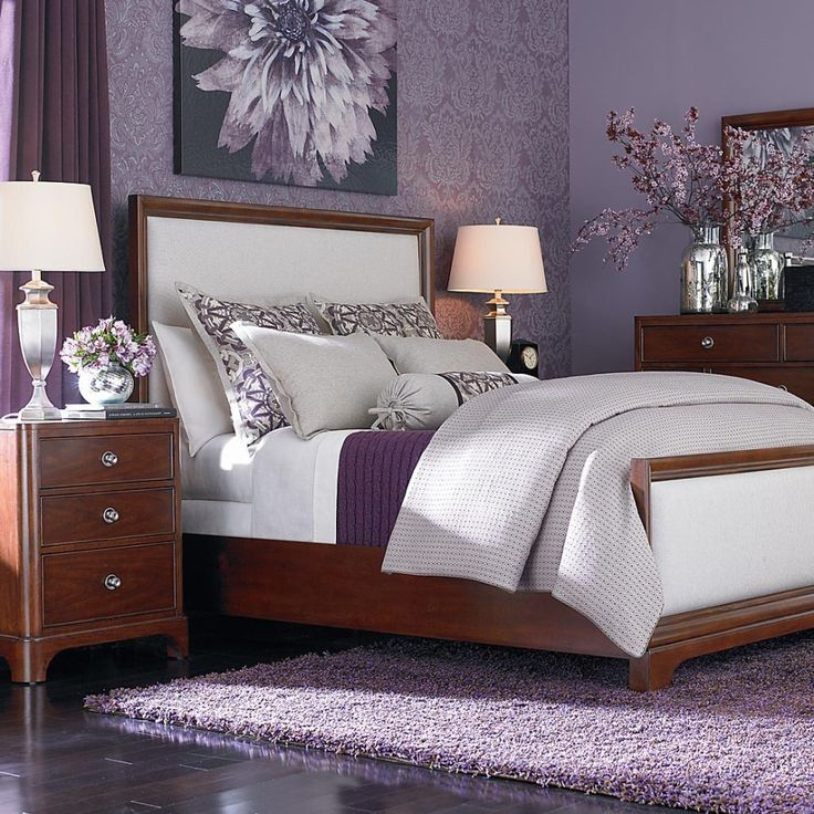 Splendid Purple Bedroom Ideas That You Will Love