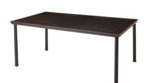 Stunning Middletown Rectangular Patio Dining Table rectangle patio table
