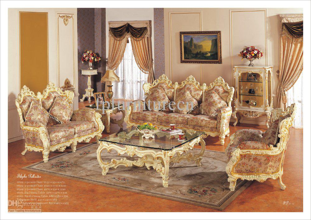 Images of Hot selling,Rococo Style living room sofa set, palace royal furniture  european rococo style furniture