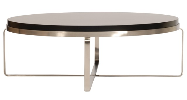 Contemporary ... Coffee Tables Ideas, Single Modern Coffee Table Round Slim White round contemporary coffee tables