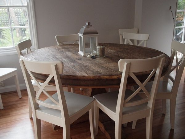 Charming How To Benefit From Round Kitchen Table? Pictures