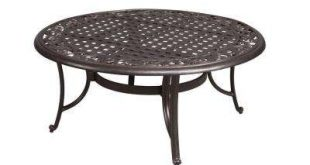 Cool Round Patio Coffee Table round outdoor coffee table