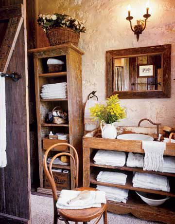 Cute 34 Rustic Bathrooms - Rustic Decor for Your Bathroom rustic country bathroom decor