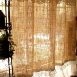 Getting down and rusty with rustic curtains for that antique look