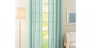 Cozy Better Homes and Gardens Semi-Sheer Window Curtain - Walmart.com semi sheer curtains